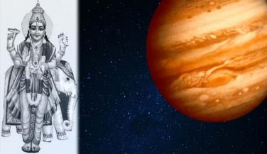 Mythological story of Jupiter.