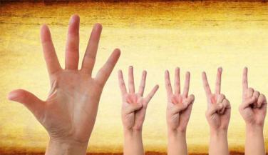 These sign in hand present interest in adhatyam and powerful intuition
