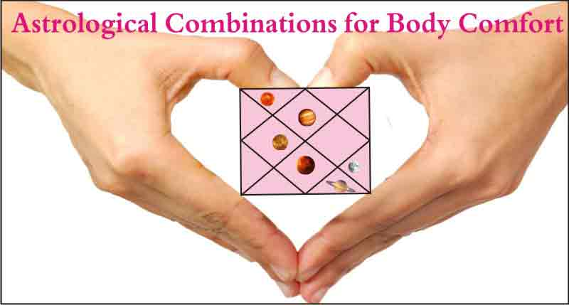 Astrological Combinations for Body Comfort