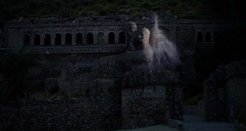 वास्तु के ये दोष है भानगढ़ महल में।