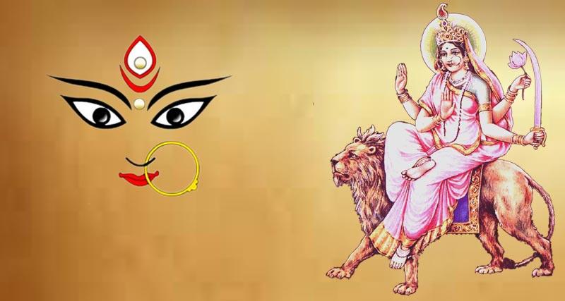 Devi Katyayani - 6th day of Navratra.