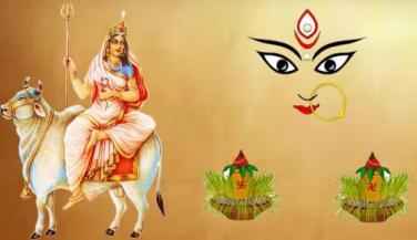 नवरात्रा के पंचम दिन की अधिष्ठात्री देवी स्कन्धमाता।
