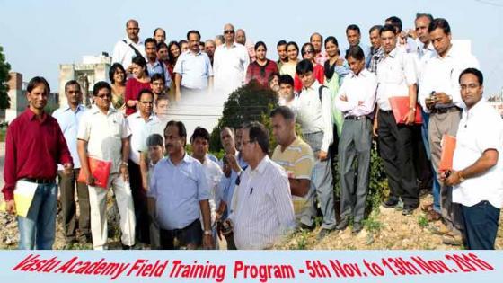 International Vastu Academy Field Training Program.
