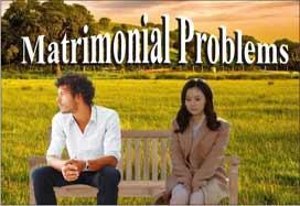 विवाहित जीवन की समस्याएं<br>