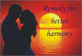 Remedy for better harmony By Padma Sharma